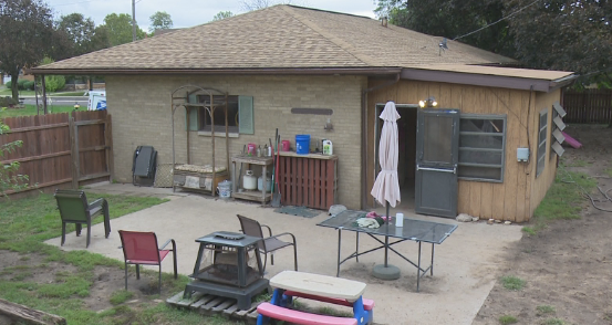 The home of Deanna Shanks where she operates an in-home doggy day care